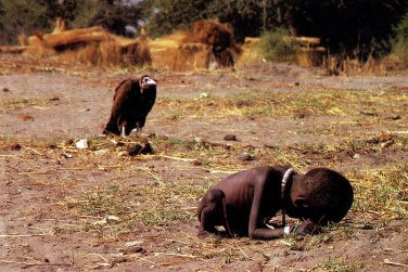 Image result for ethiopia famine vulture
