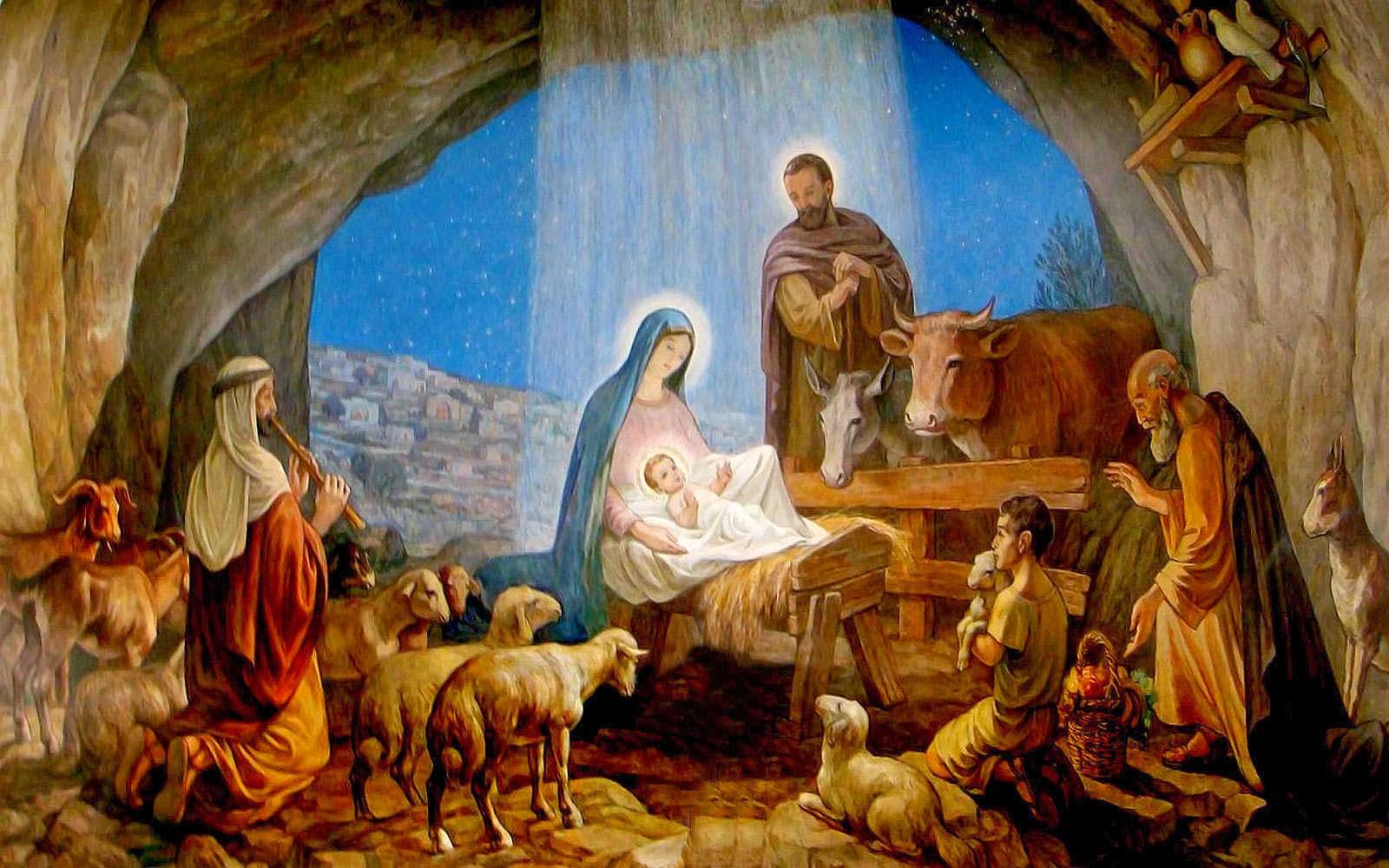 IDEAS UNLIMITED: JESUS IS BORN - Children's Bible Lesson