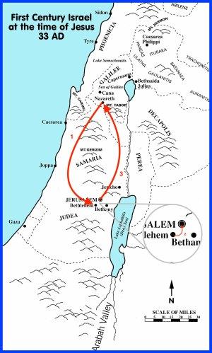 Mapa Lucas