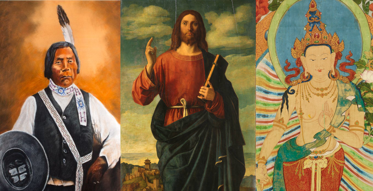 Wovoka, Jesús, y Maitreya