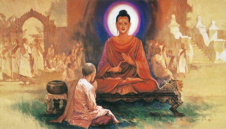 Buddha and aunt