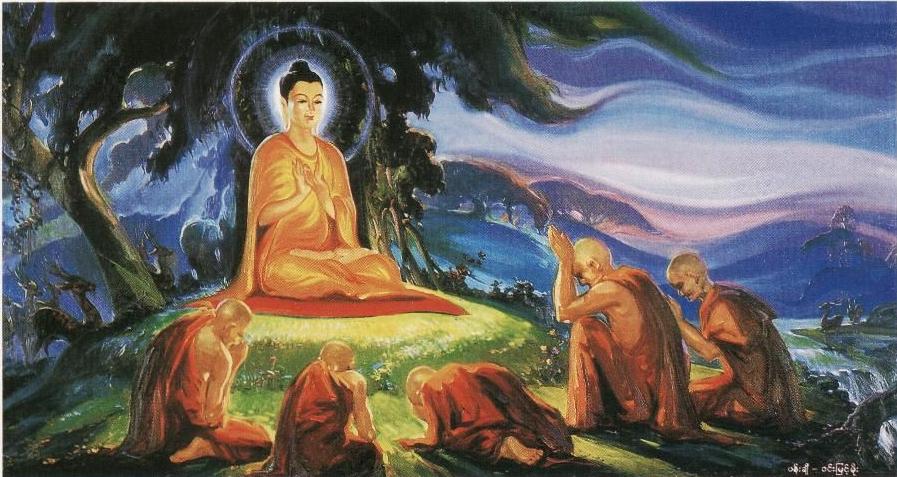 Buddha Sermon Benares